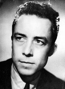 1956 portrait of French writer Albert Camus. (AP Photo)