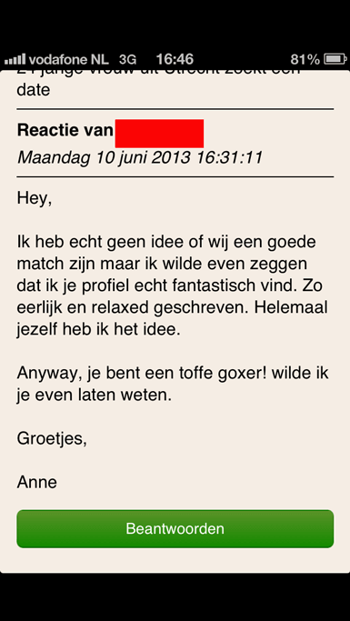 goede online dating e-mails