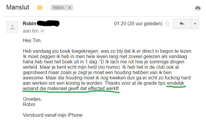 manslut boek ervaringen
