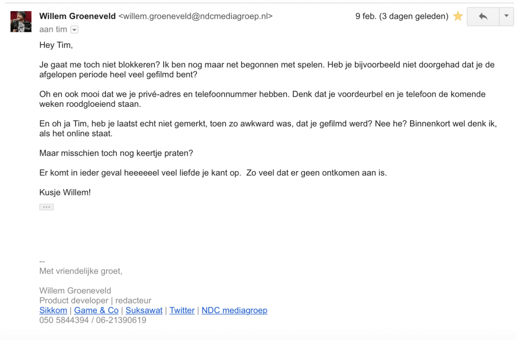 Willem Groeneveld Journalist