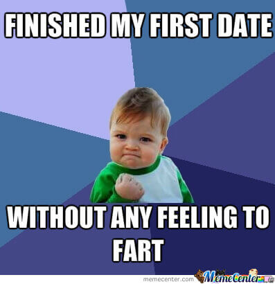 First date succeeded