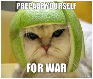 oorlog prepare for war