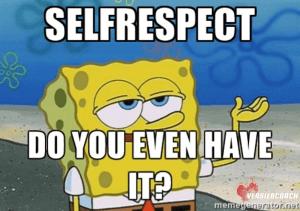 zelfrespect