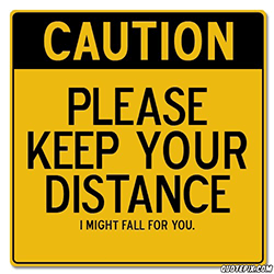 Neem afstand