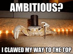 Ik ben ambitieus