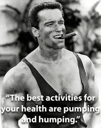 Arnold Schwarzenegger is cool