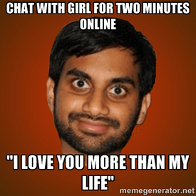 Dating jezelf meme