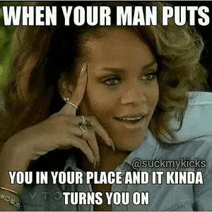 Vrouwen houden van dominante sterke mannen