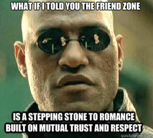 De friendzone is een opstapje naar romantiek door wederzijds vertrouwen en respect