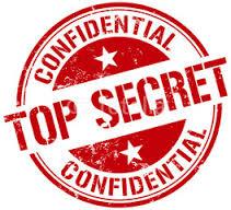 Het is geheim top secret