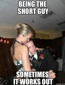 Lang meisje dating Short Guy