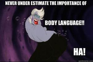 Lichaamstaal is belangrijk hoewel geen exacte wetenschap
