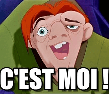 Quasimodo is lelijk