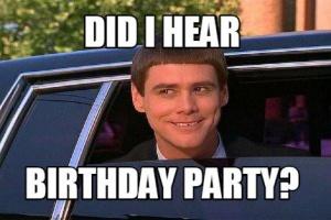 birthday party verjaardag