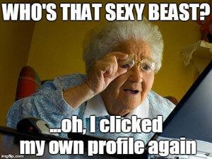 maak je eigen snelheid dating meme