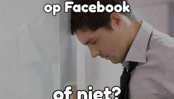Moet Ik Haar Toevoegen Op Facebook Of Niet? Het Antwoord