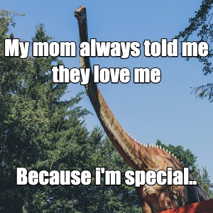 They love me because i'm special