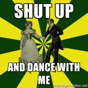 dansen oud