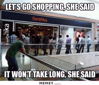 Winkelen met je vriendin