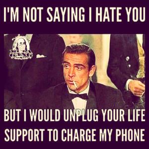 Ik haat je
